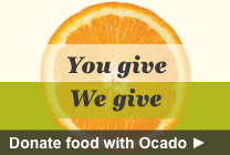 Donate food with Ocado