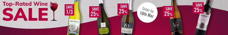 Top-rated wine sale
