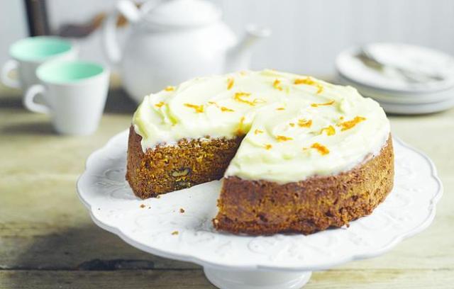 Waitrose Bakery Carrot Cake