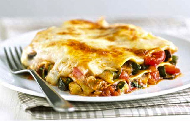 Roasted Vegetable Lasagne Recipes From Ocado