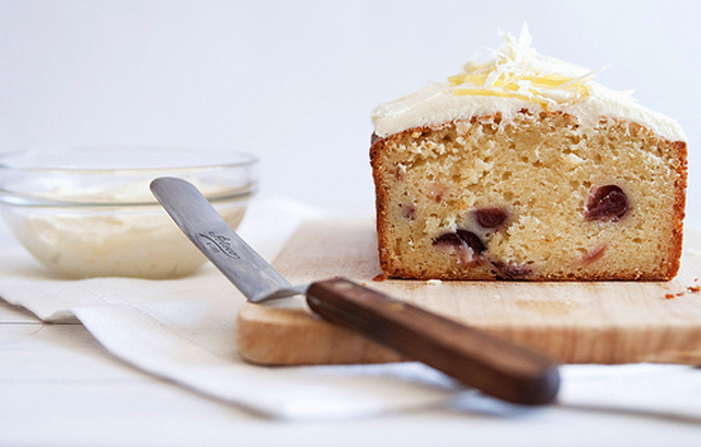 Lemon Yogurt and Cherry Cake : Recipes from Ocado