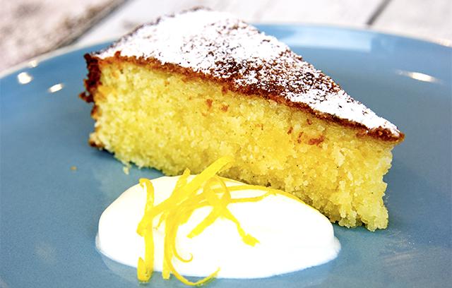 Lemon Almond Cake Dairy Free