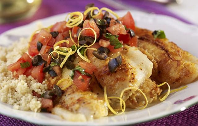 Moroccan fish recipes from ocado for Moroccan fish recipe