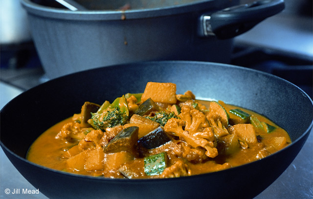 Easy Vegetable Curry : Recipes from Ocado