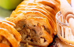 Pork and Bramley Apple Sausage Roll