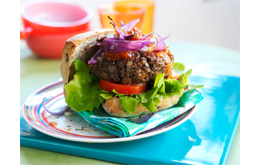 Quorn Cheese And Onion Burgers Recipes From Ocado