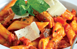 Chicken Amp Penne Pasta With Mediterranean Sauce Recipes