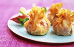 Goats' Cheese & Cranberry Parcels