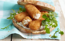 The Ultimate Fish Finger Sandwich
