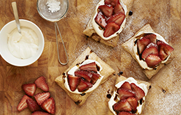 Belazu Strawberry & Balsamic Tart