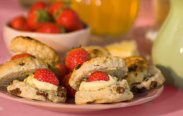 Super Strawberry Scones
