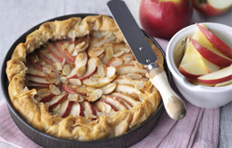 Pink Lady Toffee Apple Tart
