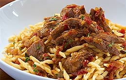 Lamb Ragu with Fresh Pasta