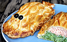 Children's Salmon En Croute