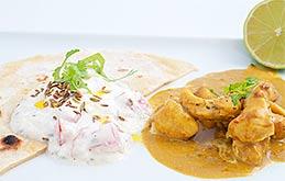 Goan Chicken Curry With A Mango Rice Recipes From Ocado