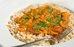 Potato and Cashew Nut Curry