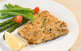 Cod with Lemon Herb Crust