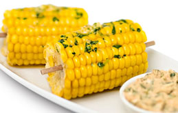 Corn on the Cob with Smoky Chilli and Lime Butter