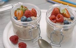 Actimel Overnight Oats