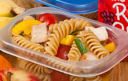 Crunchy Chicken Pasta Salad