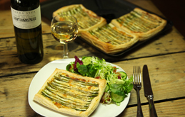 Asparagus Puff Pastry Tarts