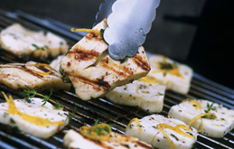 Thyme Griddled Halloumi Recipes From Ocado