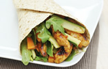 Sweet Chilli and Soy Chicken Wrap