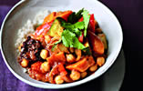 Chickpea Tagine with Harissa