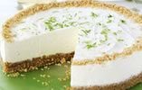 Elderflower and Lime Cheesecake