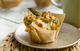 Asparagus and Cheese Brunch Muffins