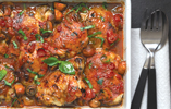 Seeds Of Change® tomato baked chicken with basil, mushrooms and baby potatoes