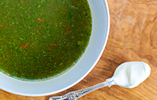 Chard and Kale Soup