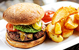 Matt Tomkinson's Home-ground Beef Burger