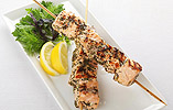 Marcello Tully's Salmon Skewers