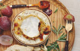 Baked Camembert with Gran Luchito Smoked Chilli Honey