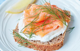 Smoked Salmon & Skyr on Rye