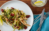 Courgetti with Chicken & Sundried Tomatoes