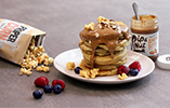 Nutty American Pancake Stack