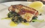 Pancetta Wrapped Cod