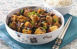 Sichuan-style 'Fish Fragrant' Aubergine with Tofu