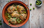 Harissa Chicken Tagine