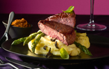 Valentine's Fillet Steak with Red Hot Pesto