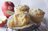 Pink Lady Oaty Crumble Apple Muffins