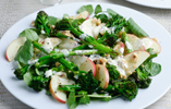 Richard Buckley's Tenderstem, Horseradish, Pink Lady Apple and Toasted Hazelnut Salad