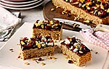 Golden Fruity Chocolate Flapjacks