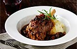 Slow-cooked Melting Lamb Shanks