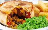 Veggie Rogan Josh Curry Pies