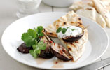 Honey Roasted Aubergines