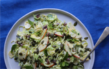 Brussels Sprouts Raw Slaw