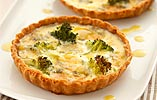 Broccoli Stilton Quiche